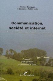 Communication, société et internet - Couverture - Format classique
