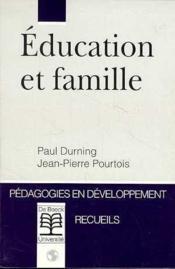 Education Et Famille/Education Et Famille - Couverture - Format classique