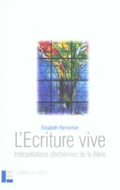L'Ecriture Vive - Couverture - Format classique