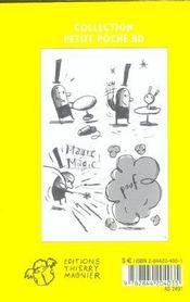 Magie-magie ! - 4ème de couverture - Format classique