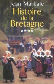 Histoire de la bretagne t4 - Intérieur - Format classique