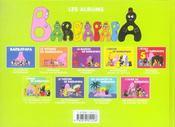 Barbapapa ; L'Arbre De Barbapapa - 4ème de couverture - Format classique