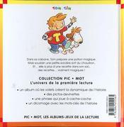 La Petite Sorciere - 4ème de couverture - Format classique