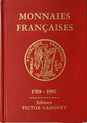 Monnaies françaises 1789-1997 - Couverture - Format classique