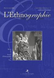 Revue De La Societe D'Ethnographie Paris N.3 - Couverture - Format classique