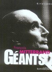 Francois Mitterrand - Intérieur - Format classique