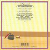 Voyage A Poudrenville - 4ème de couverture - Format classique