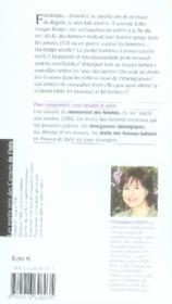Les carnets de l'info t.4 ; au-delà du féminisme, les femmes - 4ème de couverture - Format classique