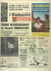 Humanite Dimanche (L') N°778 du 21/07/1963 - Couverture - Format classique