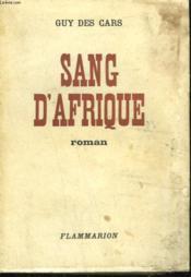 Sang D'Afrique. - Couverture - Format classique