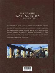 Les grands bâtisseurs du Sagamore - 4ème de couverture - Format classique