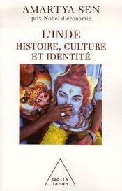 L'inde ; histoire, culture et identité - Intérieur - Format classique