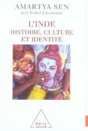L'inde ; histoire, culture et identité - Couverture - Format classique