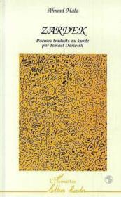 Zardek Poemes Traduits Du Kurde - Couverture - Format classique