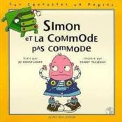 Simon et la commode pas commode - Couverture - Format classique