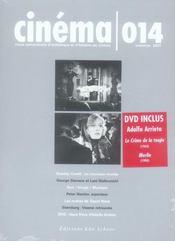 Revue Cinema T.14 ; Cinéma T.14 - Intérieur - Format classique