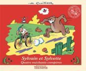 Sylvain et Sylvette t.16 ; quatre méchants compères - Couverture - Format classique