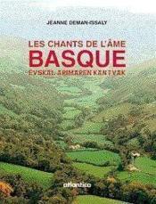 Les chants de l'ame basque - Couverture - Format classique