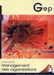 Management ; Terminale Stg ; Enonce - Couverture - Format classique