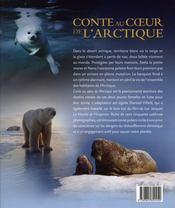 Conte au cœur de l'arctique - 4ème de couverture - Format classique
