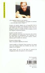 Amour double - 4ème de couverture - Format classique