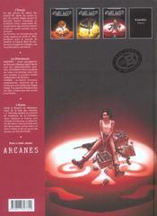 Arcane majeur t.3 ; Cuba libre - 4ème de couverture - Format classique