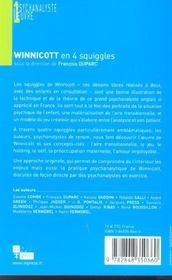 Winnicott En 4 Squiggles - 4ème de couverture - Format classique