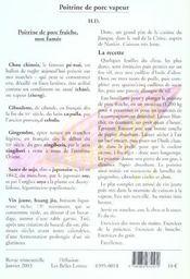 Revue Action Poetique T.170 ; Poésie Chinoise - 4ème de couverture - Format classique