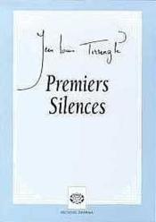 Premiers Silences - Couverture - Format classique