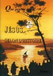 Jesus Selon L'Histoire - Couverture - Format classique