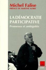 Democratie Participative : Promesses Et Ambiguite - Couverture - Format classique