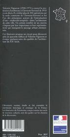 Valentin vigneron n 229 - 4ème de couverture - Format classique