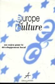 Europe Et Culture - Couverture - Format classique
