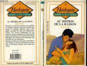 Au Mepris De La Raison - Couverture - Format classique
