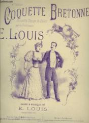 Coquette Bretonne - Piano. - Couverture - Format classique