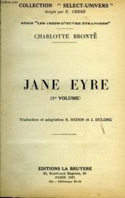 JANE EYRE (1er et 2ème volume) - Couverture - Format classique