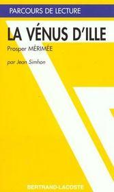 La Venus D' Ille - Parcours De Lecture - Intérieur - Format classique