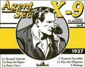 Agent secret X-9 t.4 ; 1937 - Couverture - Format classique