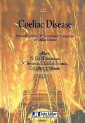 Coeliac Disease-Proceeding Of The Xth Internaltional Symposium On Coliac Disease - Couverture - Format classique