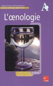 L'oenologie (5e édition) - Couverture - Format classique
