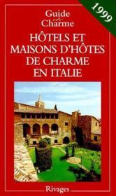 Guide des hotels en italie 1999 - Couverture - Format classique