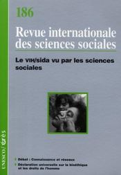 Riss N.186 ; Riss T.186 ; Le Vih/Sida Vu Par Les Sciences  - Collectif