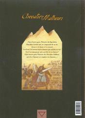 Chevalier Malheur T.2 ; Citadelle - 4ème de couverture - Format classique