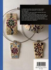 La mosaïque de verre opalescent - 4ème de couverture - Format classique