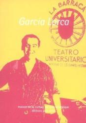 Carnets mcla n.8 ; federico garcia lorca - Couverture - Format classique