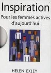 Inspirations pour les femmes actives - Couverture - Format classique