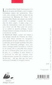 Je N'Entendrai Pas Le Rossignol - 4ème de couverture - Format classique