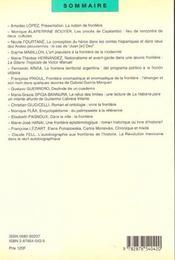America N.13 ; Frontières Culturelles En Amérique Latine T.2 - 4ème de couverture - Format classique