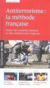 Les carnets de l'info t.6 ; antiterrorisme : la méthode française - Intérieur - Format classique