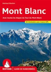 Mont Blanc (Fr)Avec Toutes Les Etapes - Couverture - Format classique